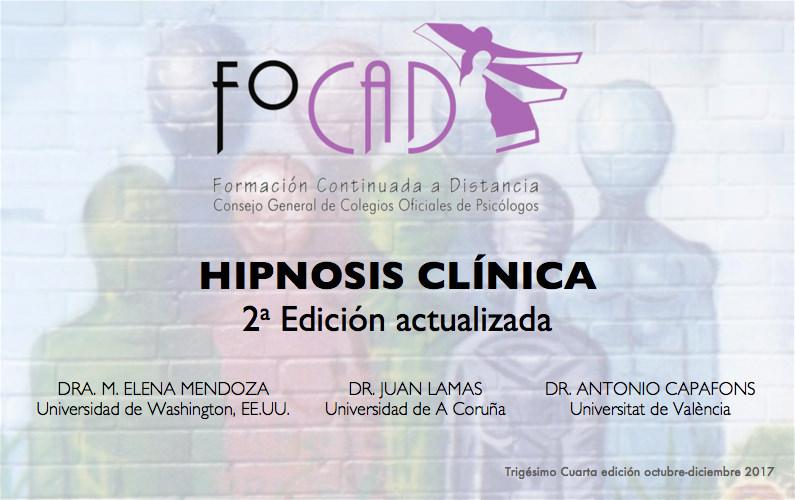 Formación en hipnosis clínica (actualización)