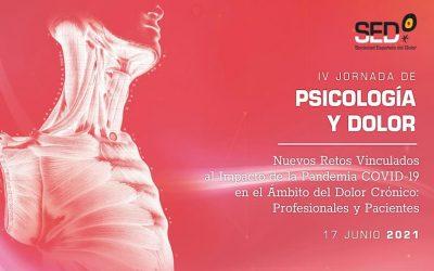 IV Jornada Psicología y Dolor