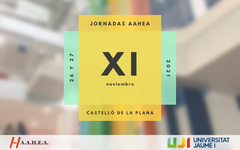 XI Jornadas AAHEA Avance del programa